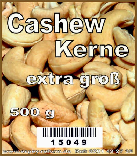 Cashewkerne extra groß 500 g
