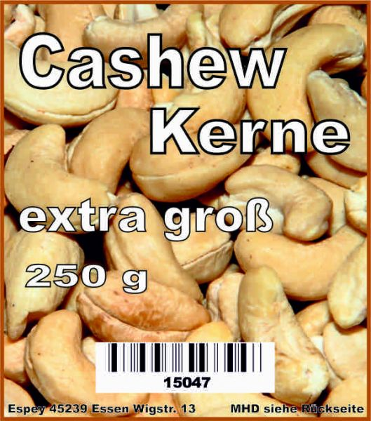 Cashewkerne extra groß 250 g